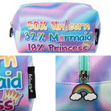 Unicorn Mermaid Princess Pencil Case/Make Up Bag