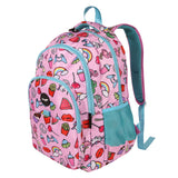 Multi Compartment Backpack - Doodles Pink