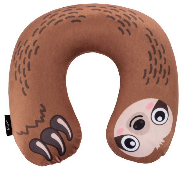 Inflatable Travel Pillow - Sloth
