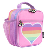 Customised Lunch Bag - Rainbow Heart