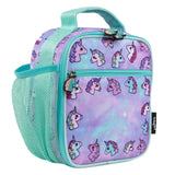Customised Lunch Bag - Pastel Unicorns