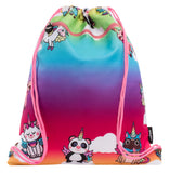 Customised Drawstring Bag - Unicorn Party