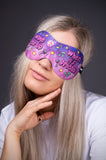 3D Teen Sleeping Mask - Wake Me Up