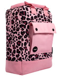 Leopard Teen Backpack Side