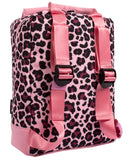 Leopard Teen Backpack Back