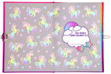 Light Up Secret Diary - Unicorn Ombre