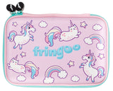 Hardtop Pencil Case - Unicorns & Cats