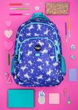 Multi Compartment Backpack - Unicorn Sky