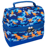 Retro Lunch Bag Dinosaur Camo