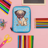 Hardtop Pencil Case - Pug and Bones
