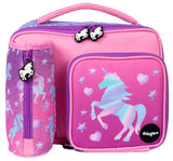 Square Lunch Bag - Unicorn Ombre