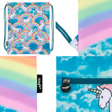 Customised Drawstring Bag - Unicorn Clouds