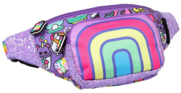 Belt Bum Bag - Rainbow Smile