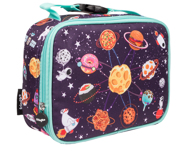 Food Space Basketball Lunch Bag