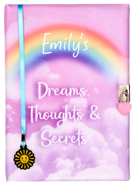 Personalised Notebook - Dreams & Secrets