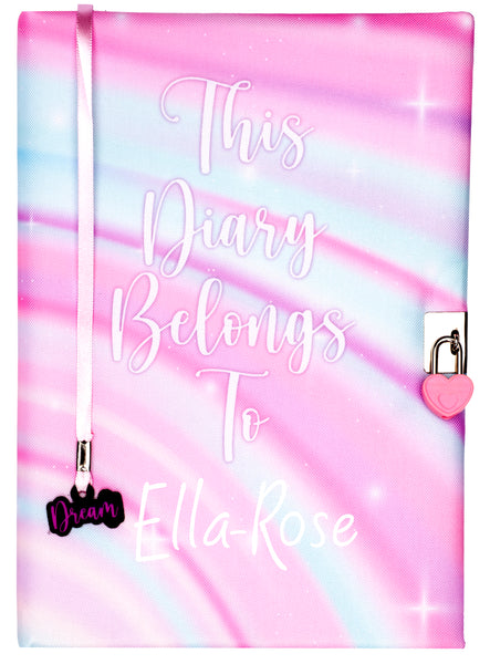 Personalised Notebook - Diary Belongs