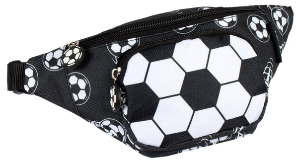 Belt Bum Bag - Football Black
