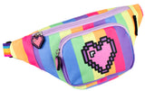 Belt Bum Bag - Pixel Heart