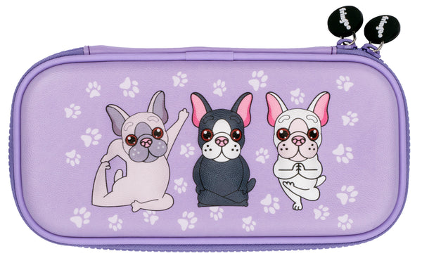 Yoga Pugs Pencil Case