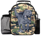 Lunch Bag - Camouflage Dinosaur