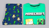 Minecraft Pyjamas - Green & Blue