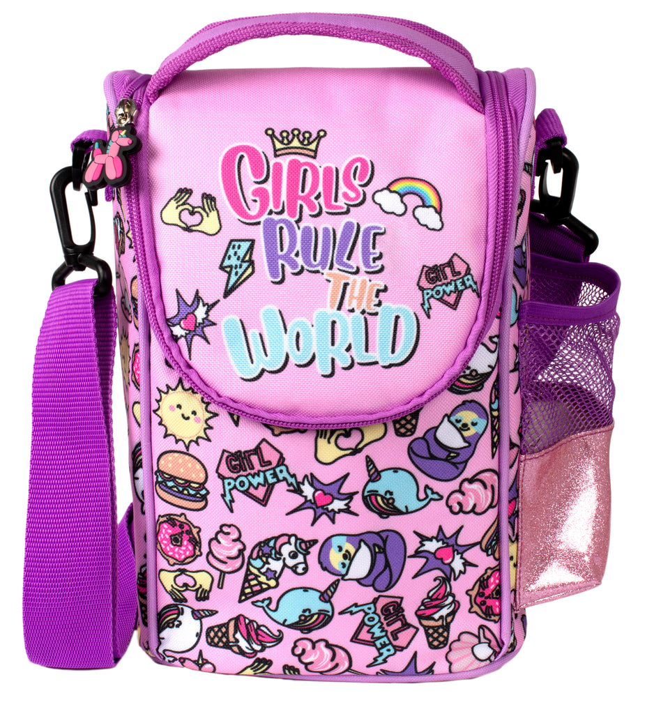 Strap Lunch Bags - Girls Rule