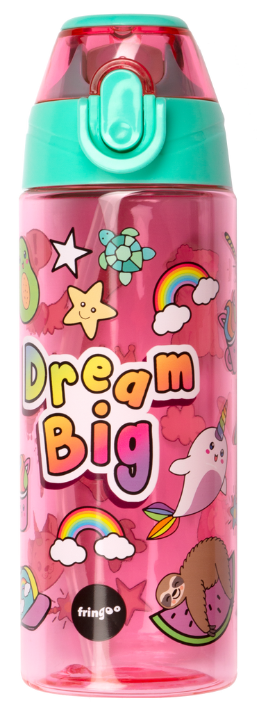 Straw Water bottle - Dream Big