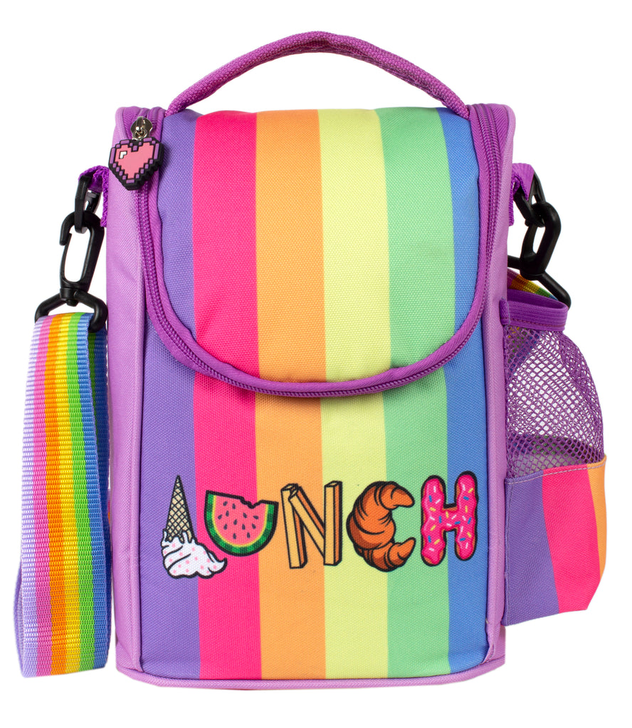 Strap Lunch Bags - Rainbow Lunch