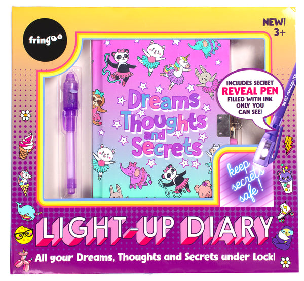 Light Up Secret Diary - Ballet World