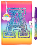 Personalised Secret Diary - Rainbow