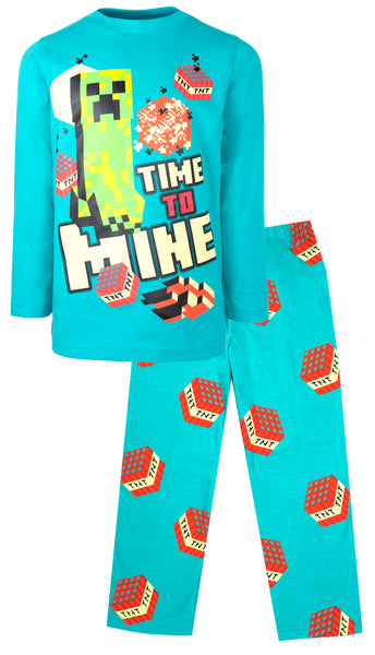 Minecraft Pyjamas - Blue