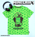 Minecraft Creeper T Shirt - Green