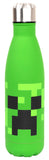 Minecraft Stainless Steel Water Bottle 750 ml - Green