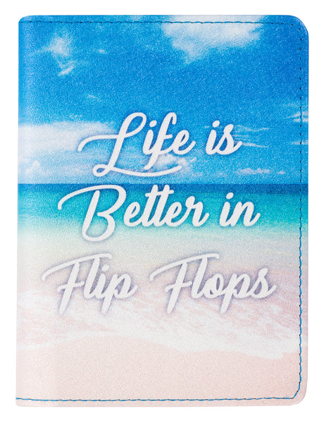 Passport Holder - Life In Flip Flops