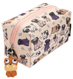 Pugs Pattern Pencil Case