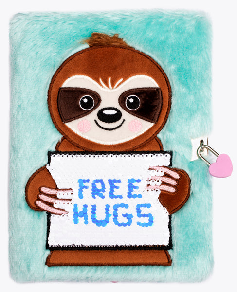 3D Secret Diary - Free Hugs Sloth