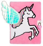 3D Secret Diary - Pink Unicorn Wings
