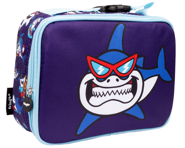 Shark's Smile Basketball Lunch Bag