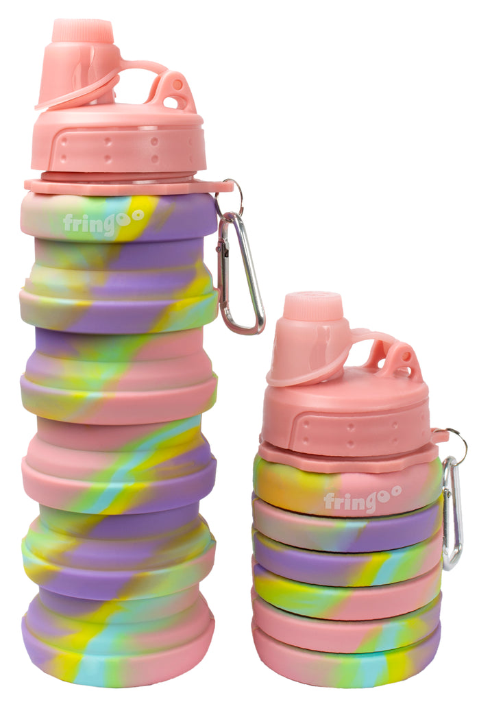 Silicone Bottle - Pink Purple
