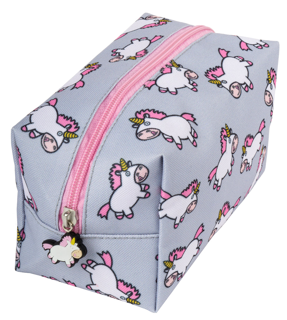 Chubby Unicorn Pencil Case/Make Up Bag