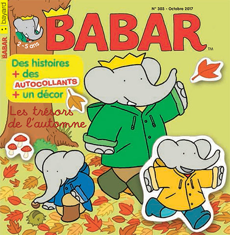 BABAR NO 303 - OCTOBRE 2017