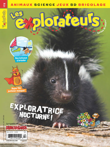 LES EXPLORATEURS NO 172 - MARS 2019