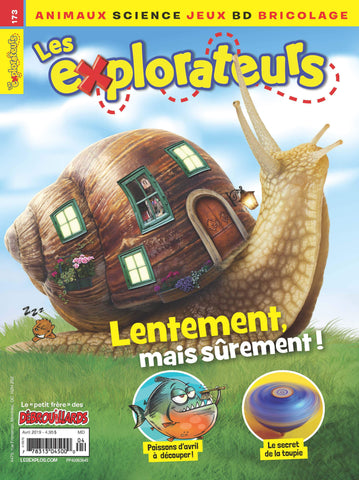 LES EXPLORATEURS NO 173 - AVRIL 2019