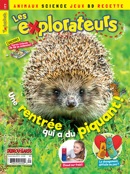 LES EXPLORATEURS NO 177 - SEPTEMBRE 2019