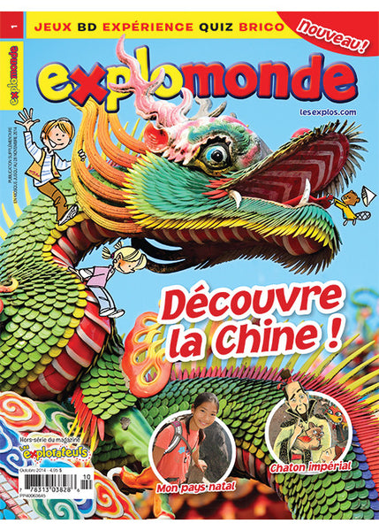 EXPLOMONDE NO 1 - OCTOBRE 2014