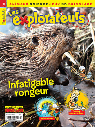 LES EXPLORATEURS NO 140 - AVRIL 2016