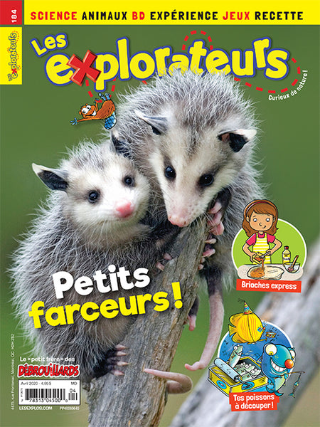 LES EXPLORATEURS NO 184 - AVRIL 2020