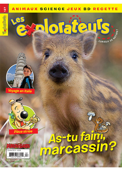 LES EXPLORATEURS NO 127 - FEVRIER 2015