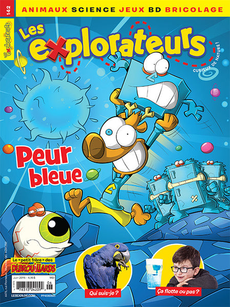 LES EXPLORATEURS NO 142 - JUIN 2016