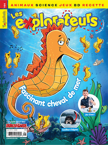LES EXPLORATEURS NO 164 - JUIN 2018